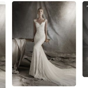 2016 Pronovias Tamar Wedding Dress *SAMPLE* Size 8